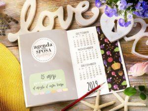 Agenda della Sposa 15 mesi 2020